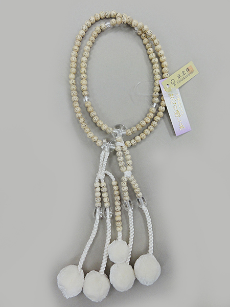 星月菩提珠 水晶入 12,000円(税別)